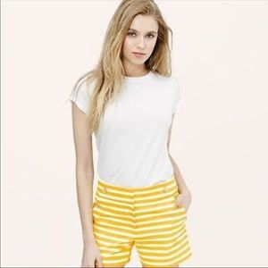 Yellow striped shorts! Never worn!